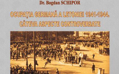 Conferință CIRI: Ocupația germană a Letoniei 1941-1944. Câteva aspecte controversate