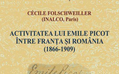 Conferință CIRI: Cécile Folschweiller — Activitatea lui Emile Picot între Franța și România (1866-1909)