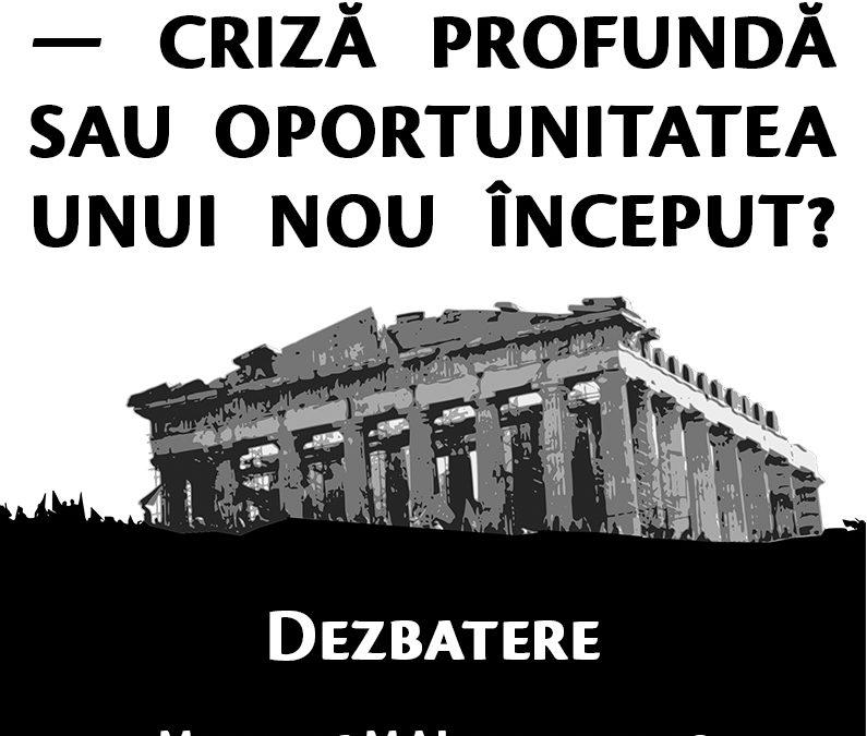 Dezbatere CIRI 16 mai 2017: Uniunea Europeană — criză profundă sau oportunitatea unui nou început?